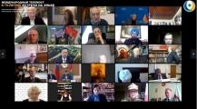 Международный телемост «Встреча на Эльбе 75». Видео