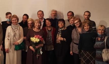 Вечер памяти Осьмининых в ЦДРИ